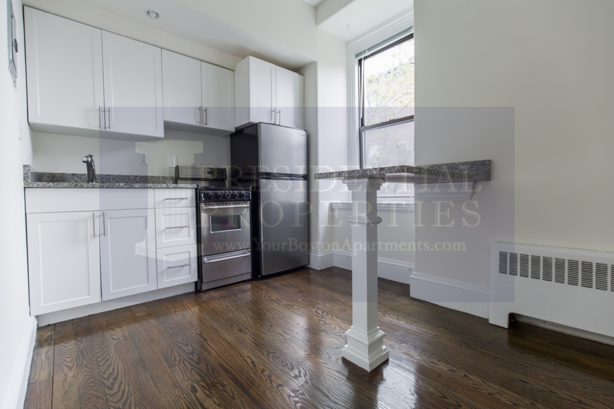 Back Bay One Bedroom with Updated Kitchen