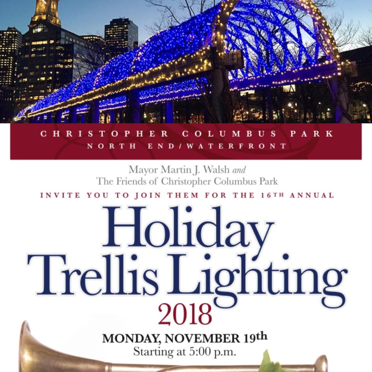 TONIGHT! Annual Trellis LightingCeremony