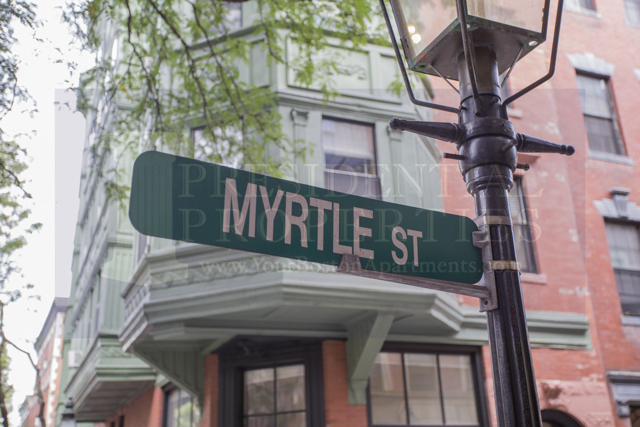 New Listing! Beacon Hill Myrtle Street One Bedroom