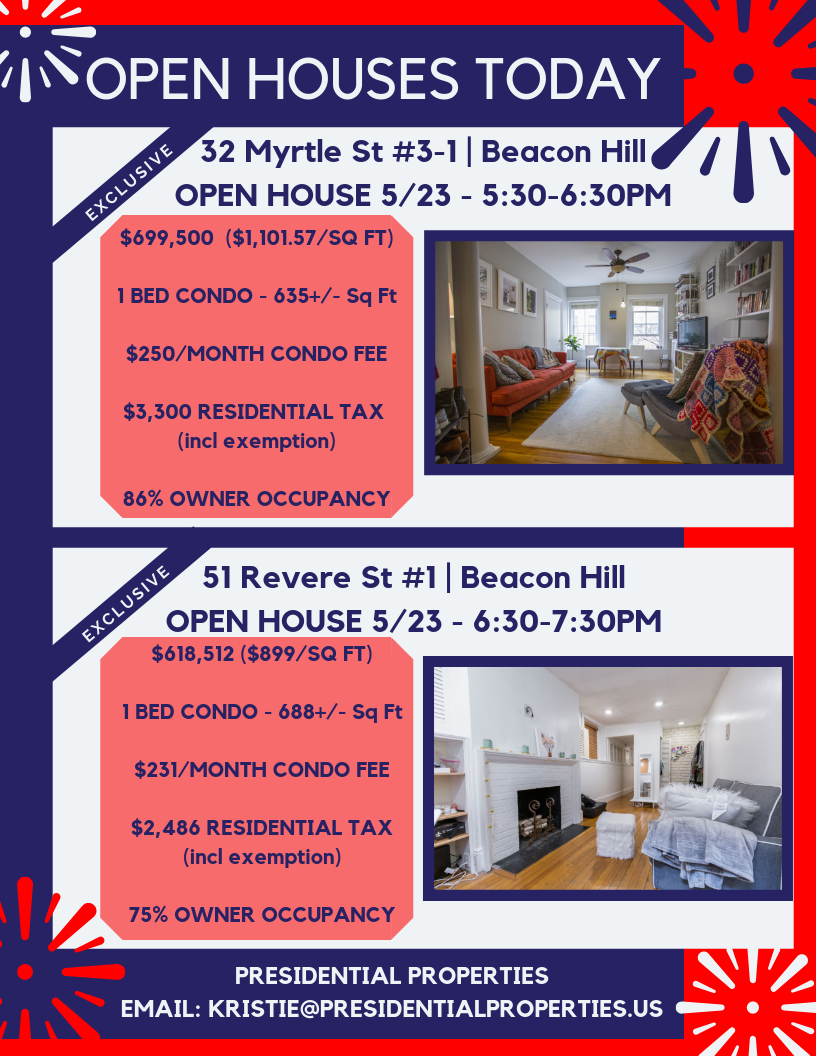 OPEN HOUSES TODAY 5.23 final