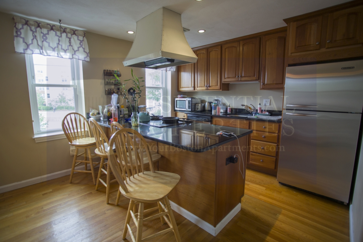 New Listing! Charlestown Renovated Two Bedroom with 1.5 Baths and small privatedeck