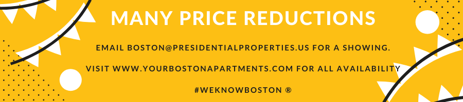Boston Apartment Price Reductions!